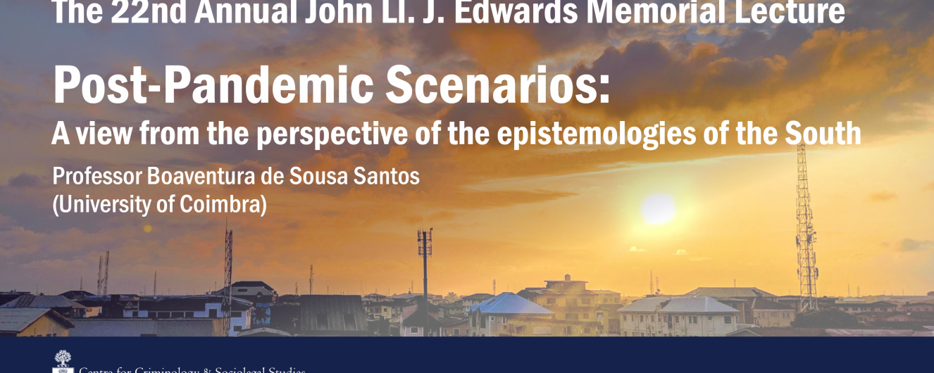 Edwards Lecture: Post-Pandemic Scenarios