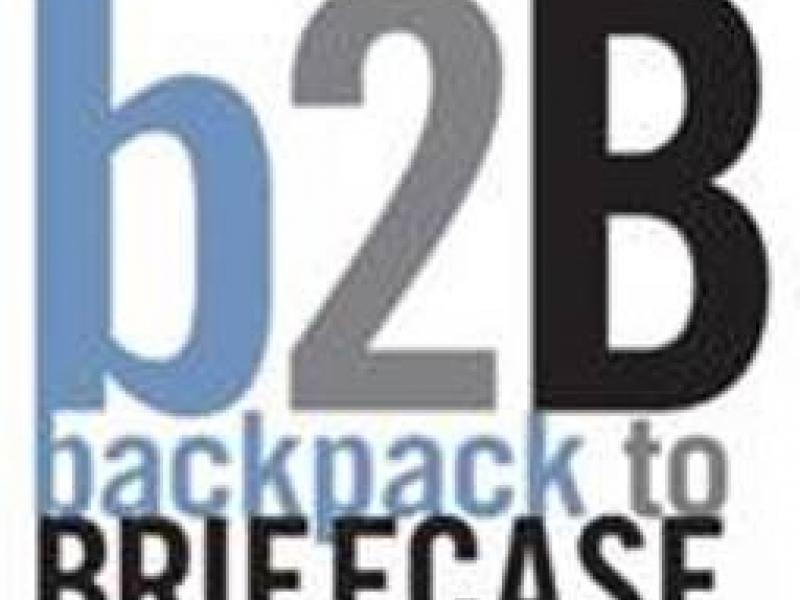 Backpack to Briefcase logo
