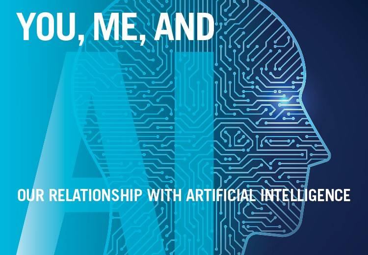 "Poster for 'You, Me, and A.I."" Event."